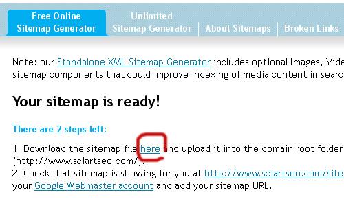 xml sitemap สำหร บ seo ง าย ๆ ด วย sitemap generator