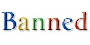 google ban